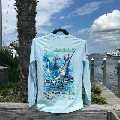 37th Annual Pirate's Cove Billfish Tournament Long Sleeve T-Shirt