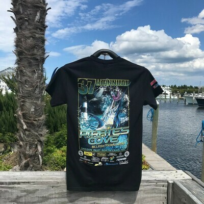 37th Annual Pirate's Cove Billfish Tournament T-Shirt