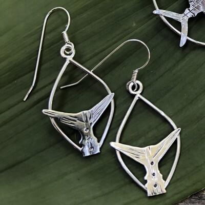 Tuna Tail Earrings