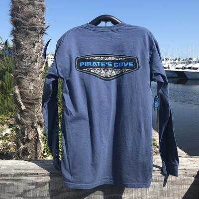 Camo Cove Emblem Long Sleeve T-Shirt