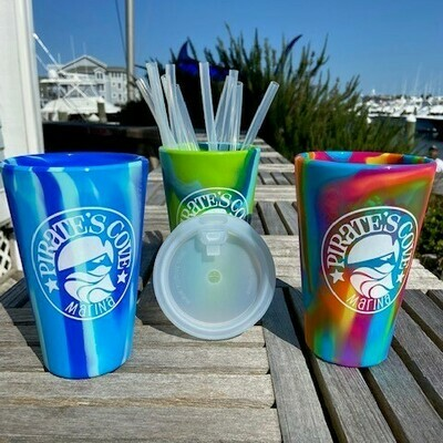 Silipint Tie Dyed 16 oz. Cup