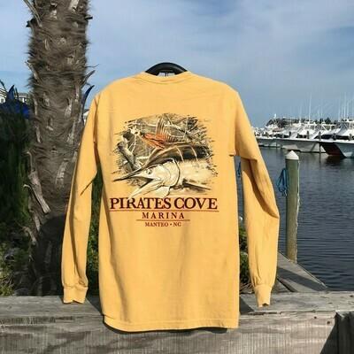 PC Camo Fish Long Sleeve T-Shirt
