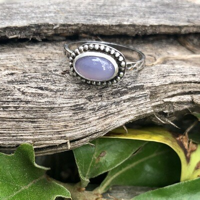 Holley Lavender Chalcedony Ring 1.5ct