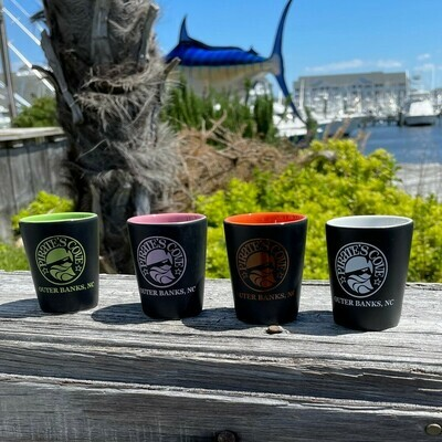Pirate's Cove Logo Ceramic Shot Glass