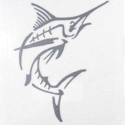 Decal - Silver Marlin