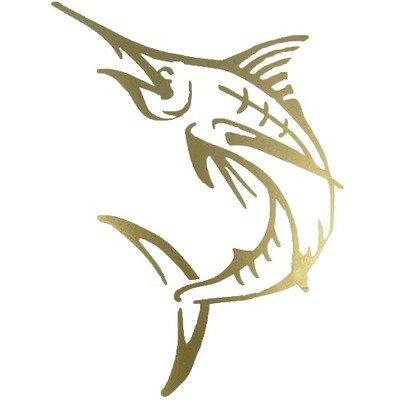 Decal - Gold Marlin