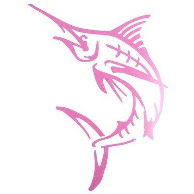 Decal - Pink Marlin