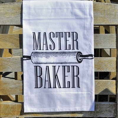 Twisted Wares Master Baker Flour Sack Kitchen Towel