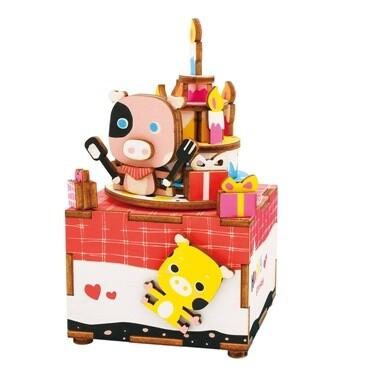 Деревянный 3D конструктор Robotime AM309 Любящие сладкоежки