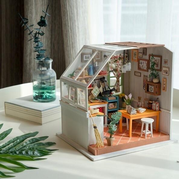 Румбокс DG105 Уютная кухня (Сборная модель ТМ Цветной)