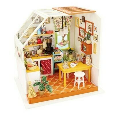 Сборная модель Rolife DG105 румбокс Уютная кухня