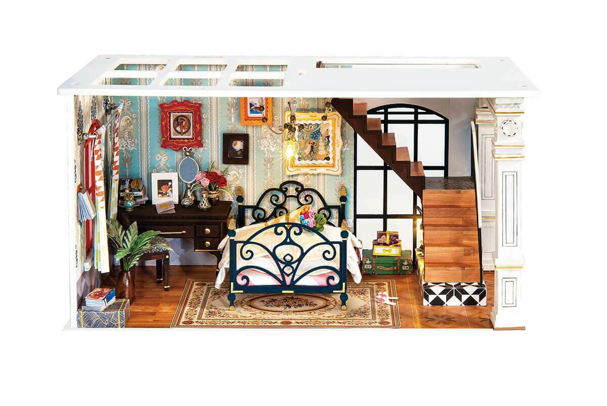 Сборная модель ТМ Цветной румбокс DGF02 Парижская спальня