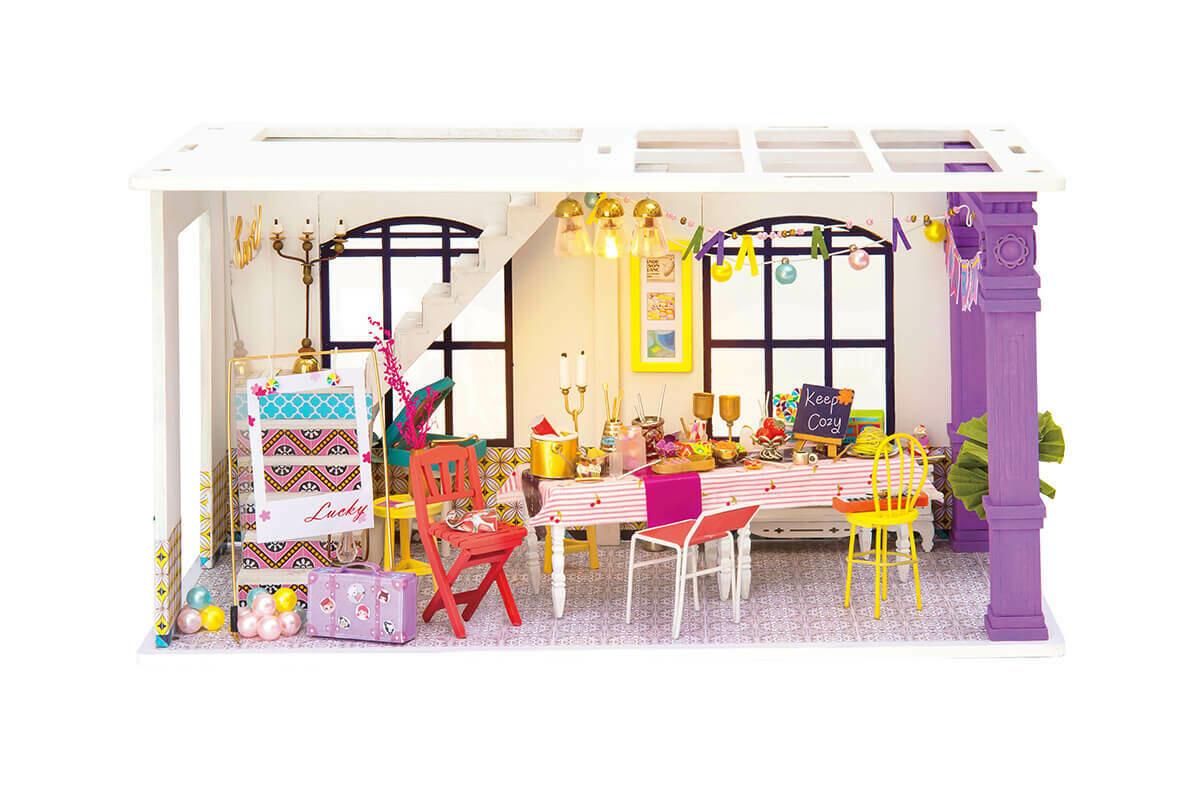 Сборная модель ТМ Цветной румбокс DGF03 Время для вечеринки