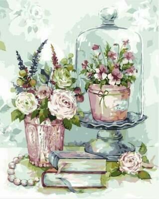 Картина по номерам (40х50см) Цветной MG2063 Натюрморт Приятные мелочи