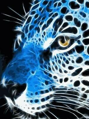 Картина по номерам (40х50см) Цветной MG2120 Грациозный взгляд