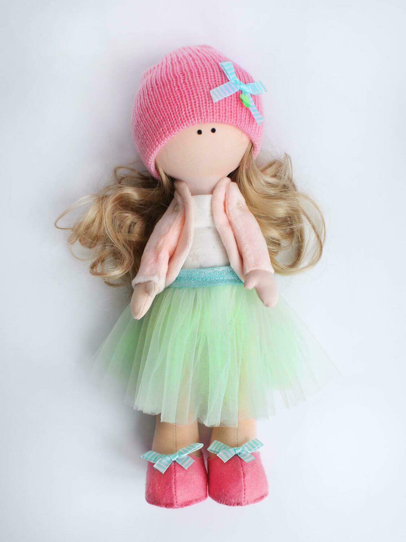 Набор ТМ Цветной для изготовления текстильной игрушки DI048 Кукла Изабелла (35см)