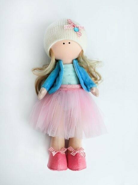 Набор для шитья интерьерной куклы (ТМ Цветной) DI046 Оливия