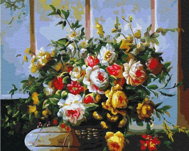 Картина по номерам ТМ Цветной GX31684 Праздничный букет