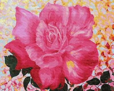 Картина по номерам ТМ Цветной GX22596 Лепестки роз