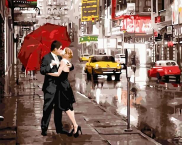 Картина по номерам ТМ Цветной GX5003 Вдвоем в Нью-Йорке
