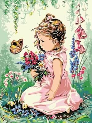 Картина по номерам (30х40см) Цветной EX5271 Весна пришла