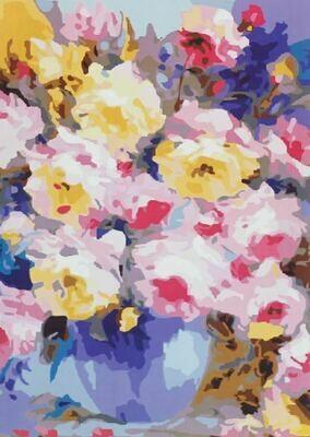 Картина по номерам (40х50см) Цветной MG3126 Многоцветье