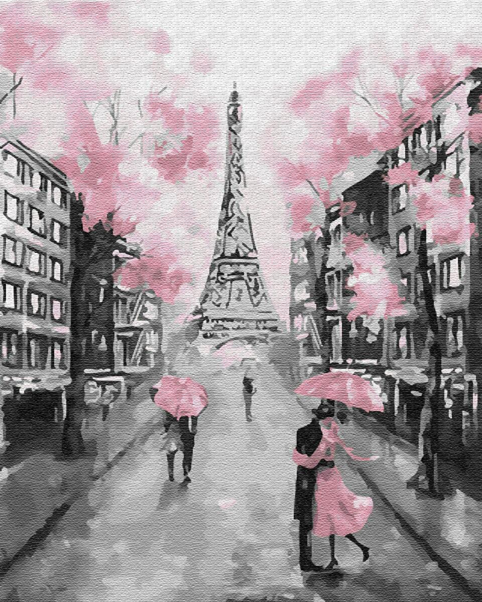 Картина по номерам (40х50см) Цветной GX22055 Гламурный Париж