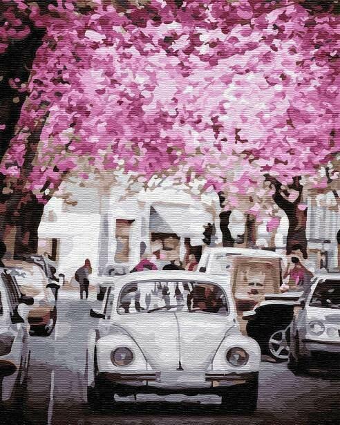 Картина по номерам (40х50см) Цветной GX31972 Цветущий город