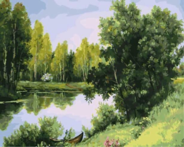 Картина по номерам (40х50см) Цветной GX9533 Природа