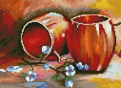 Набор алмазной вышивки (30х40см) Цветной LE058 Натюрморт