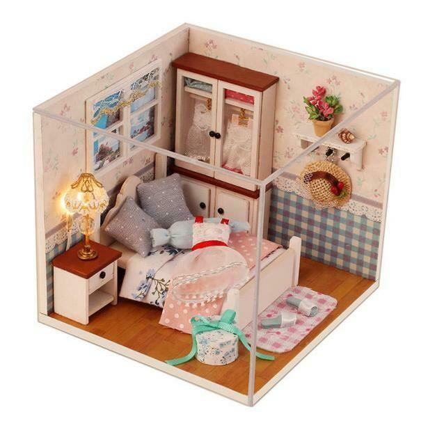 Сборная модель Diy House (Mini) M002 Румбокс Теплая Спальня