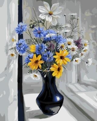 Картина по номерам (40х50см) Цветной GX7994 Крымский натюрморт