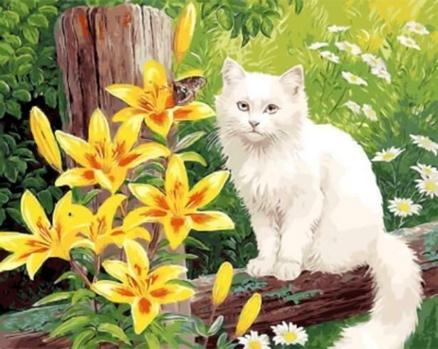 Картина по номерам (40х50см) Цветной GX9786 Сельская идилия