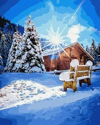 Картина по номерам (40х50см) Цветной GX31645 Морозное утро