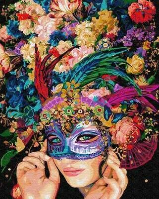Картина по номерам (40х50см) Цветной GX22922 Маскарад