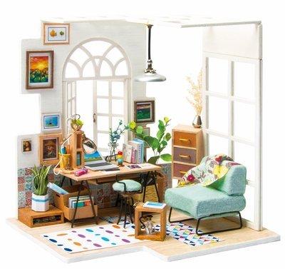 Сборная модель Rolife DGM01 румбокс Домашний кабинет