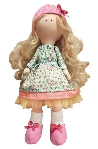Набор для шитья интерьерной куклы (ТМ Цветной) DI042 Принцесса Маргаритка