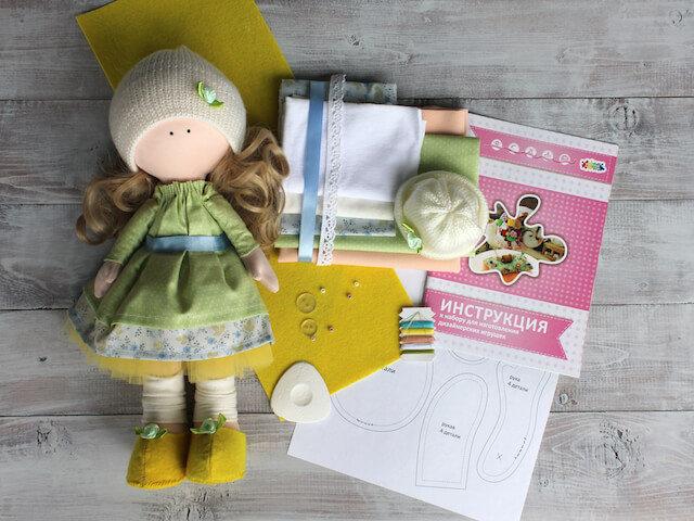 Набор для шитья интерьерной куклы (ТМ Цветной) DI043 Принцесса Вероника