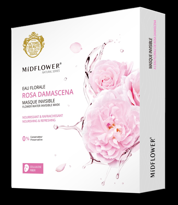 BOX MASQUE INVISIBLE ROSA DAMASCENA