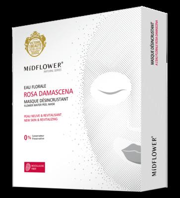 BOX MASQUE BIOCELLULOSE DESINCRUSTANT ROSA DAMASCENA