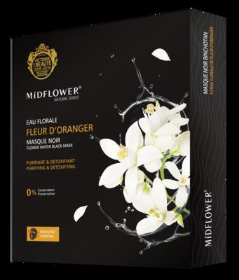 BOX MASQUE CHARBON FLEUR D'ORANGER