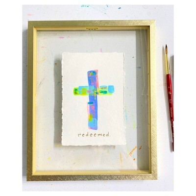 Color Block Cross