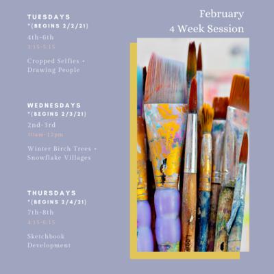 February Art Session