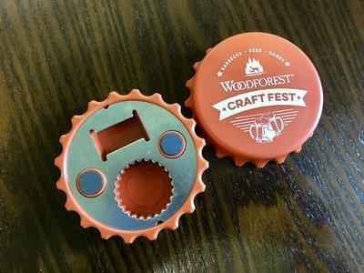 Craft Fest Bottle Opener and Magnet