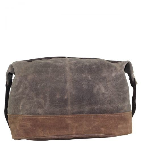 Olive Distressed Dopp Kit