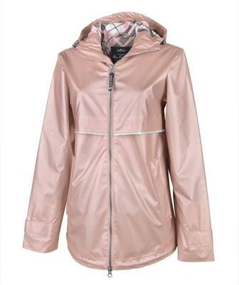 Rose Gold Women's New Englander Rain Jacket