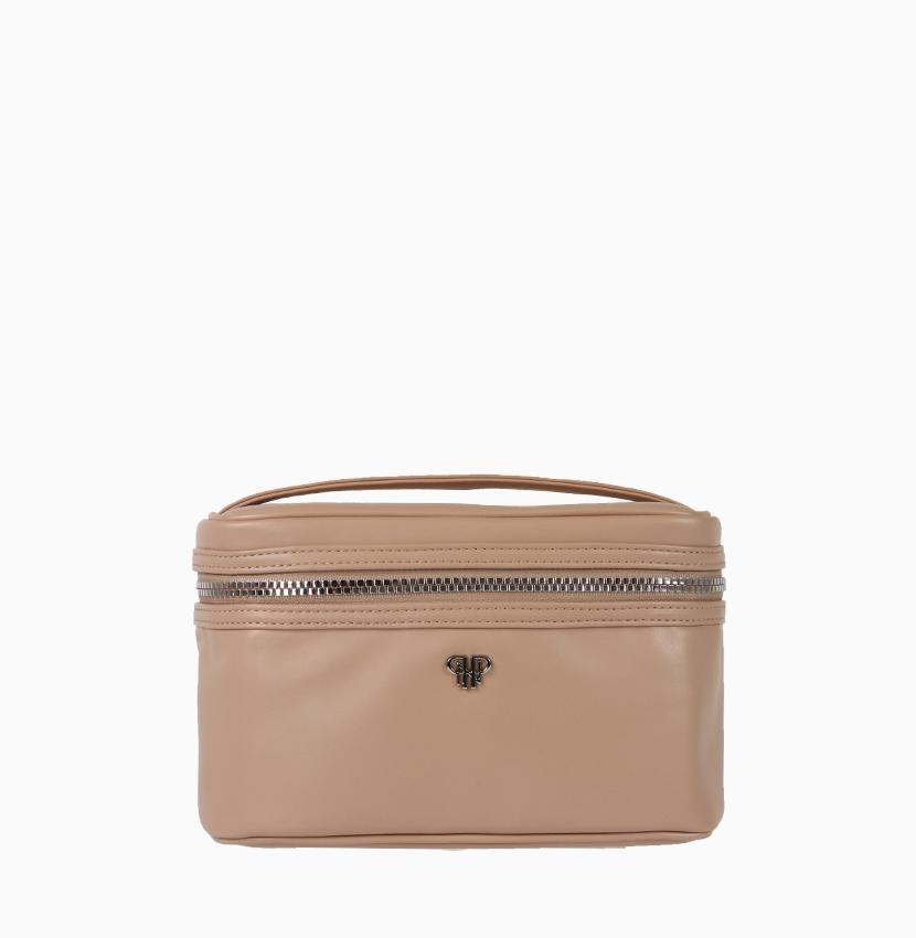 Getaway Train Case-Pale Pink