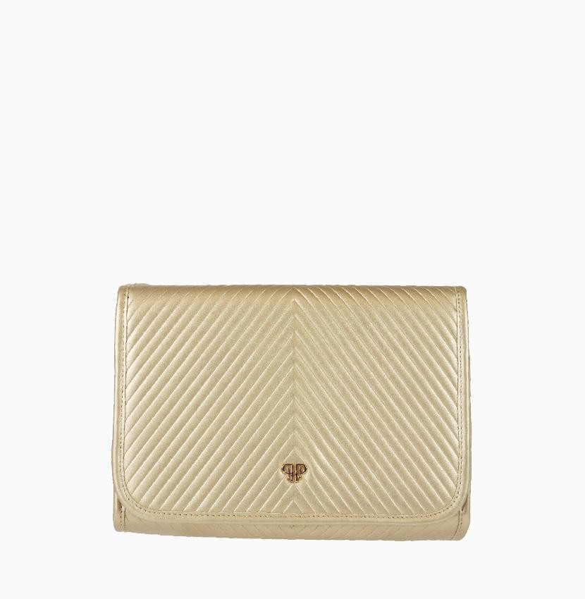 Getaway Toiletry Case-Gold