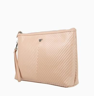 Getaway Large Makeup Case-Pale Pink