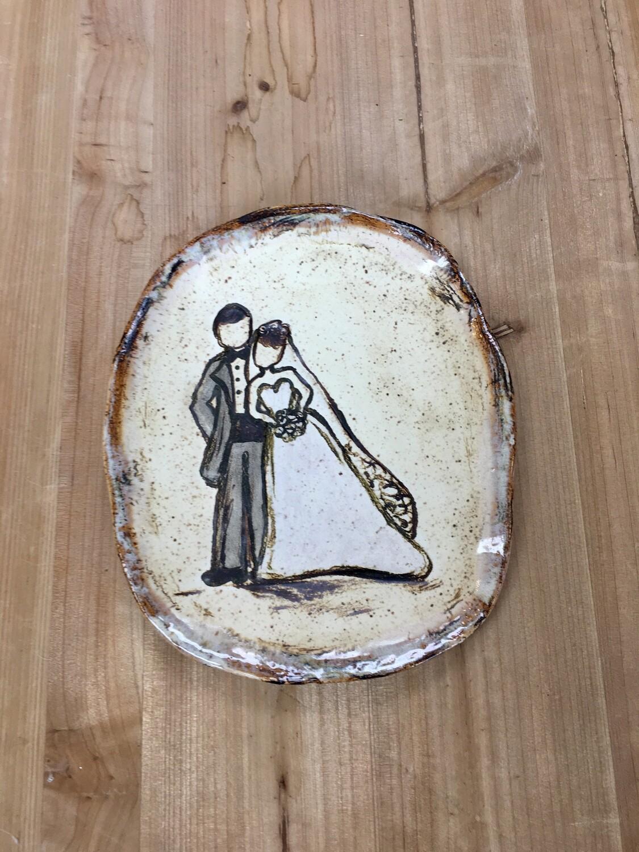 Happy Couple Plate